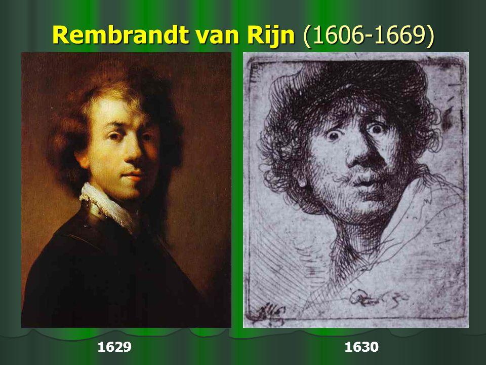 Rembrandt van Rijn (1606-1669) 1629 1630