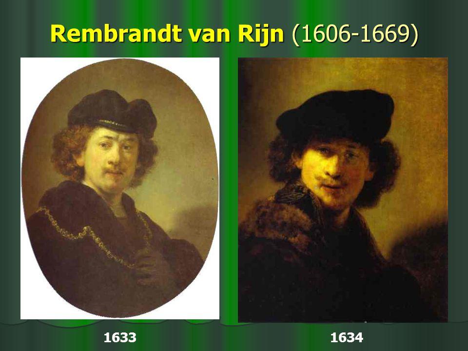 Rembrandt van Rijn (1606-1669) 1633 1634
