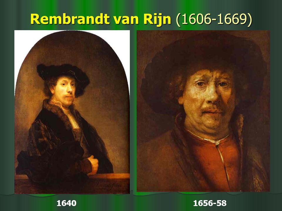 Rembrandt van Rijn (1606-1669) 1640 1656-58