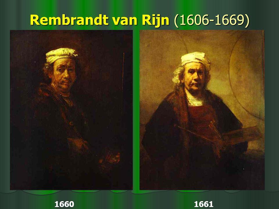 Rembrandt van Rijn (1606-1669) 1660 1661