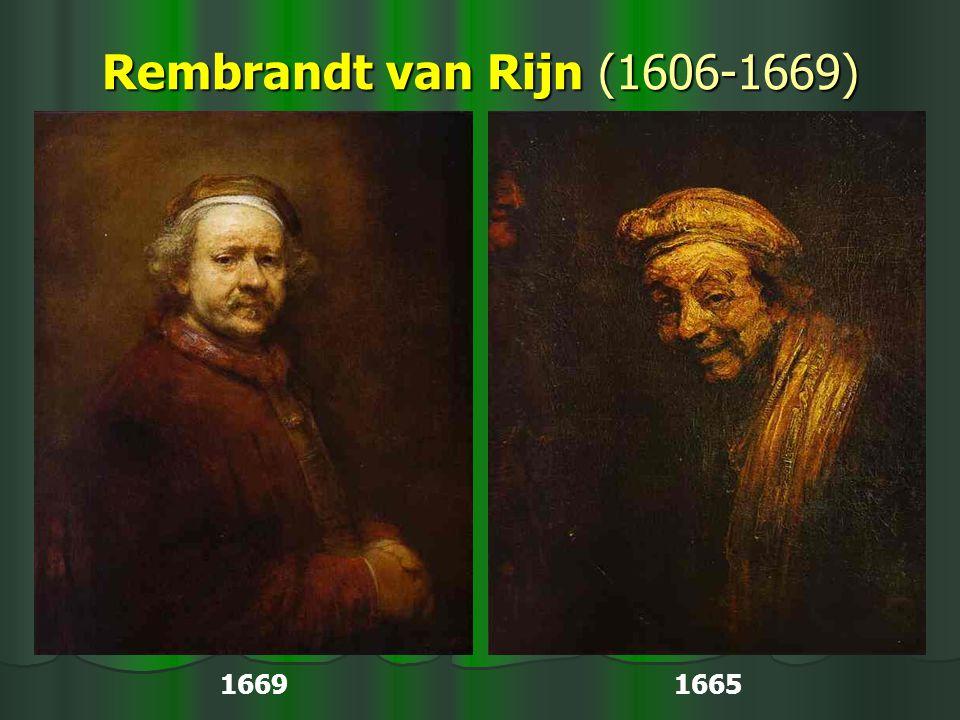 Rembrandt van Rijn (1606-1669) 1669 1665