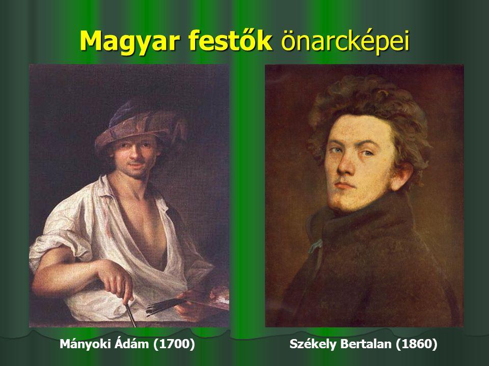 Magyar festők önarcképei