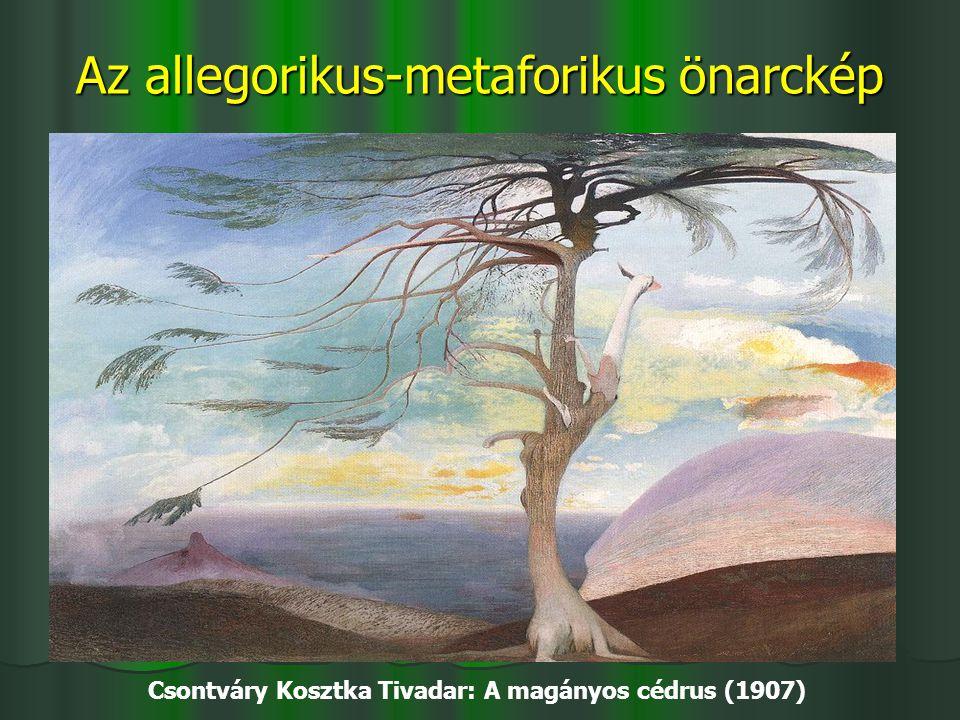 Az allegorikus-metaforikus önarckép