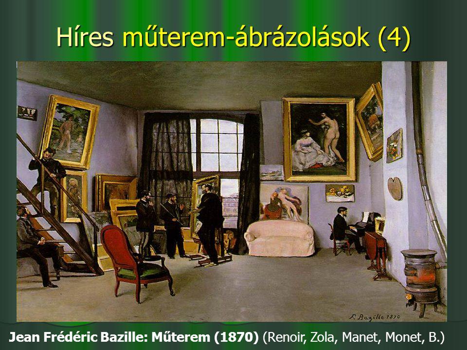 Híres műterem-ábrázolások (4)