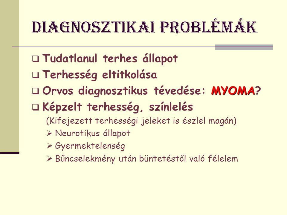 Diagnosztikai problémák
