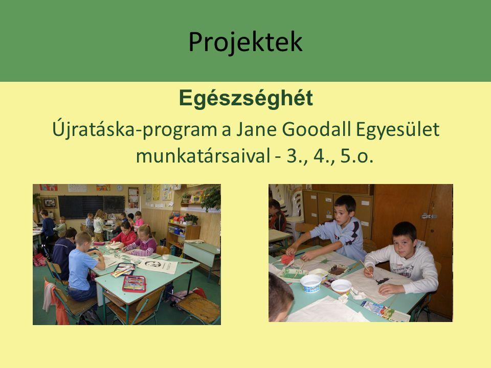 Projektek Egészséghét