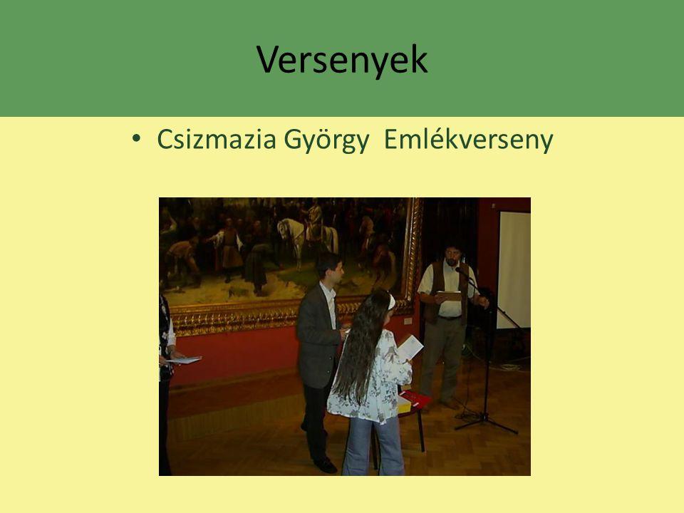 Csizmazia György Emlékverseny