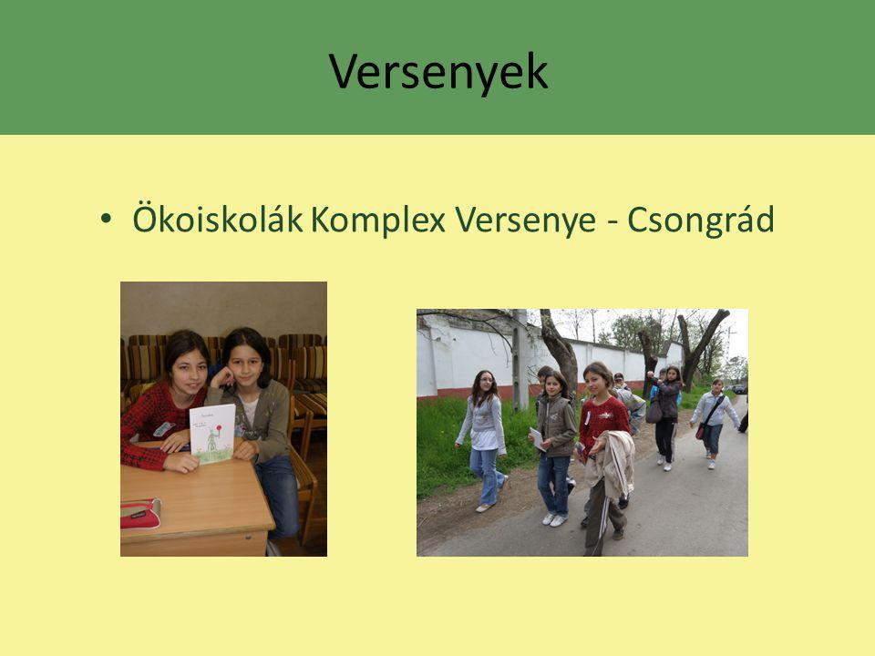 Ökoiskolák Komplex Versenye - Csongrád