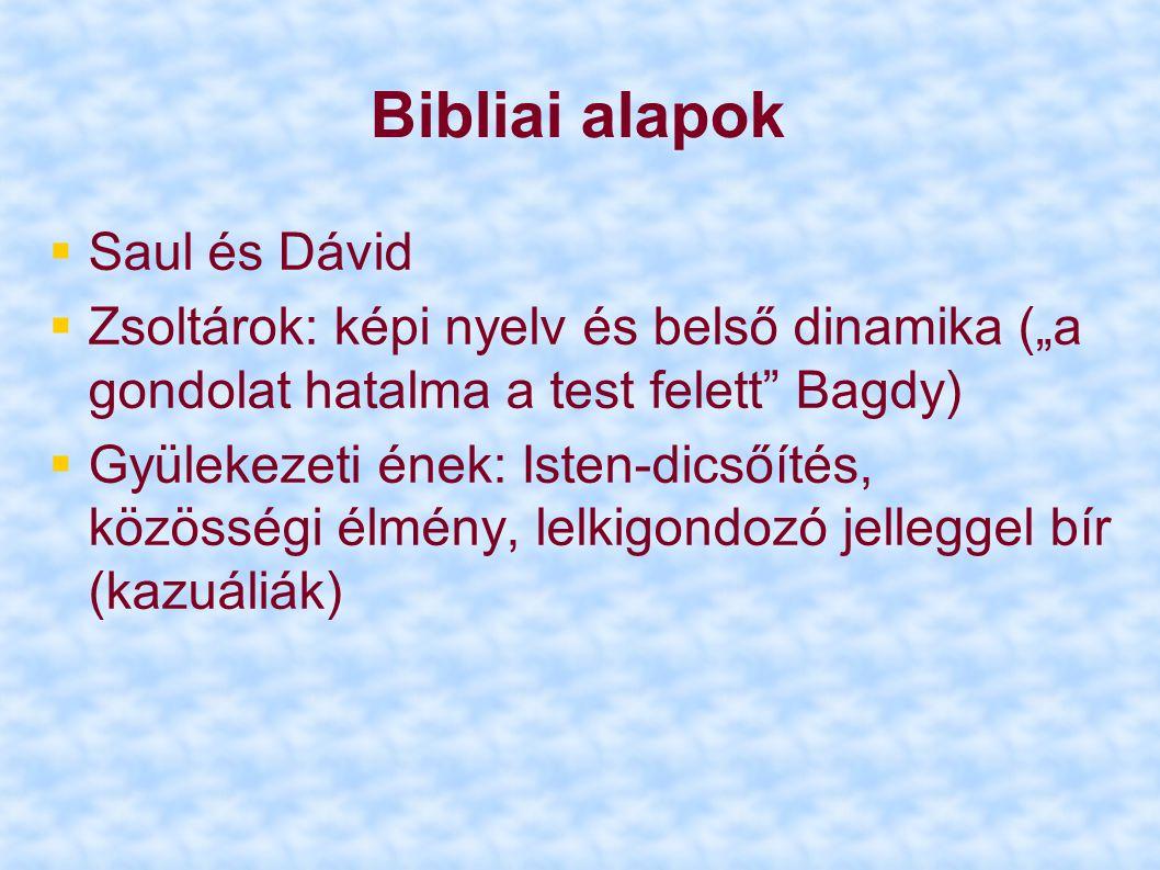 Bibliai alapok Saul és Dávid
