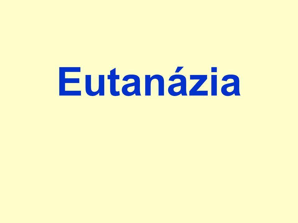 Eutanázia