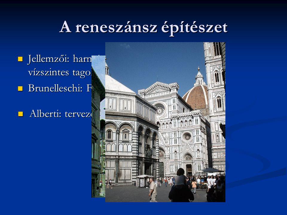 A reneszánsz építészet