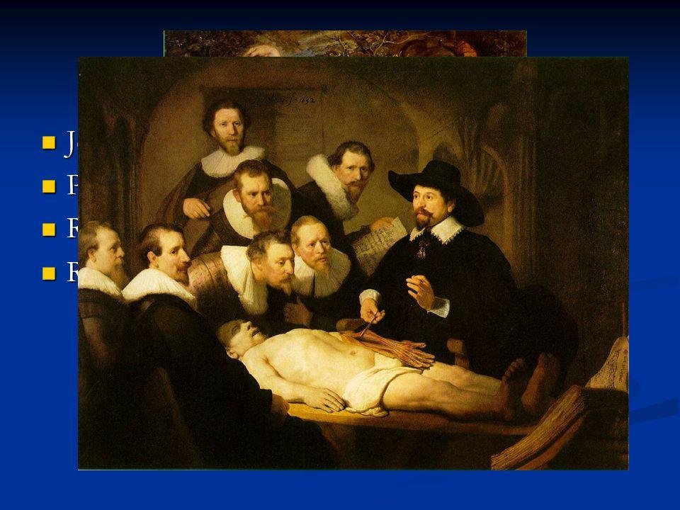 A barokk festészet Jellemzői: mozgalmas, fény-árnyék