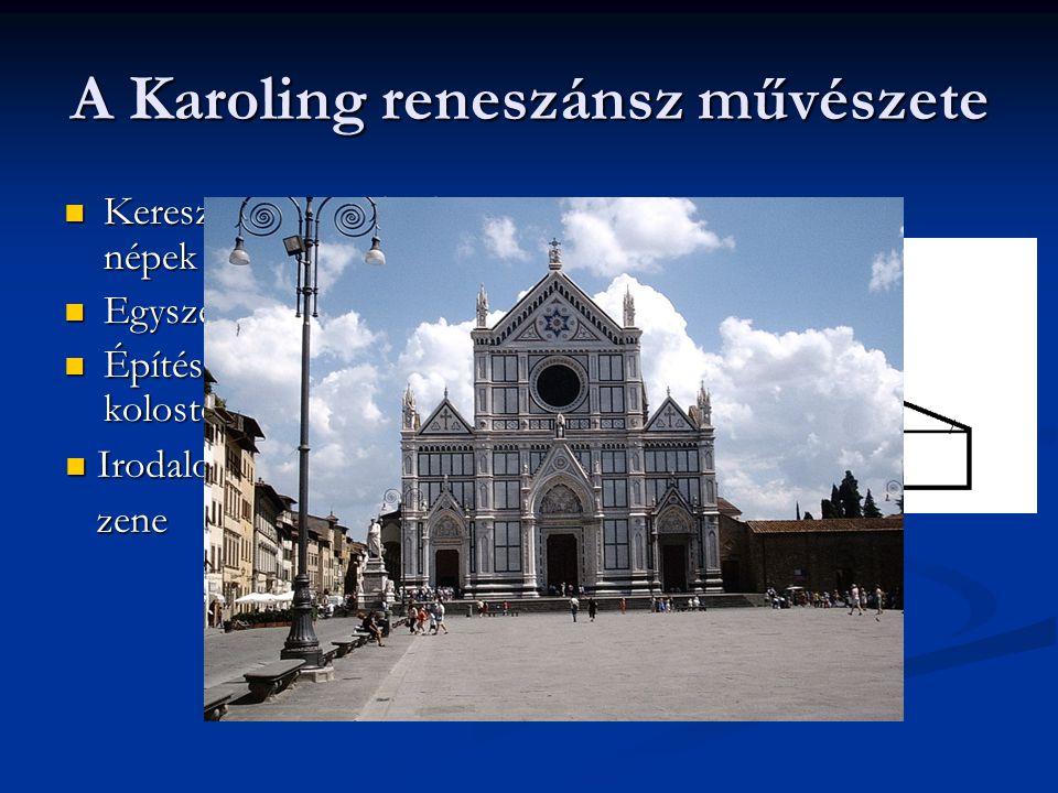 A Karoling reneszánsz művészete