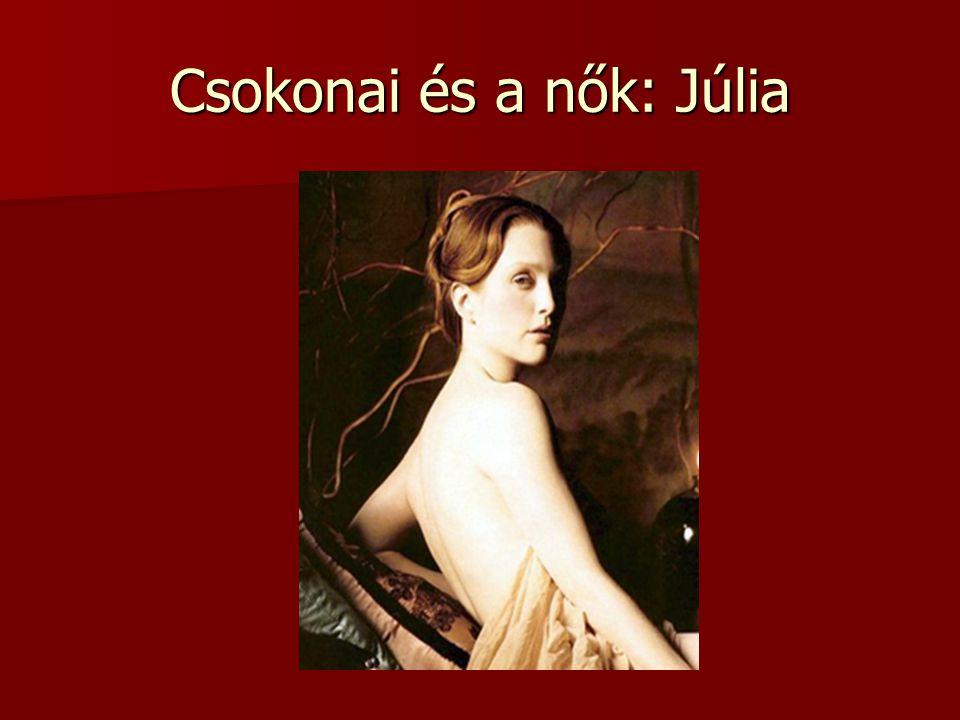 Csokonai és a nők: Júlia