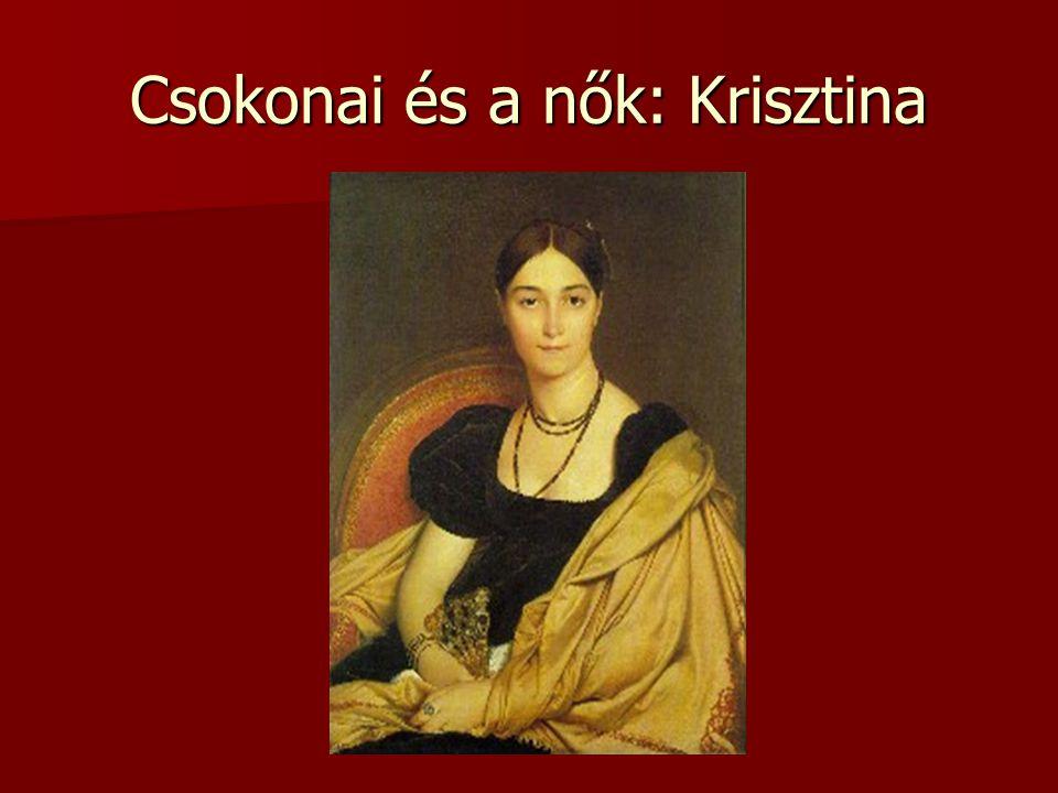 Csokonai és a nők: Krisztina
