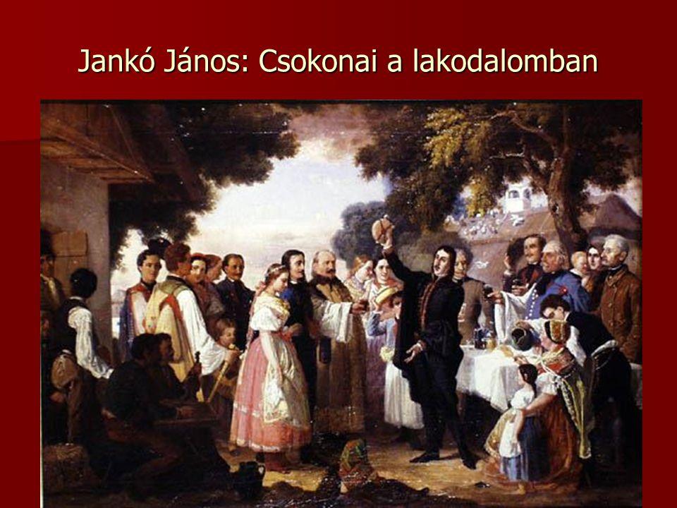Jankó János: Csokonai a lakodalomban