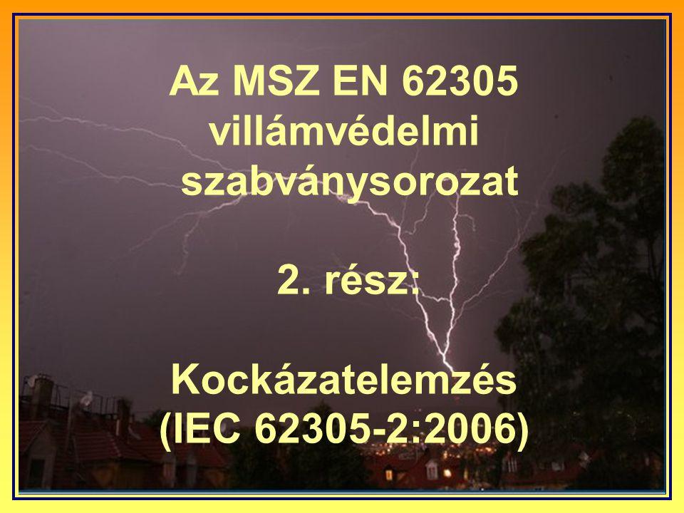 Az MSZ EN 62305 villámvédelmi szabványsorozat 2