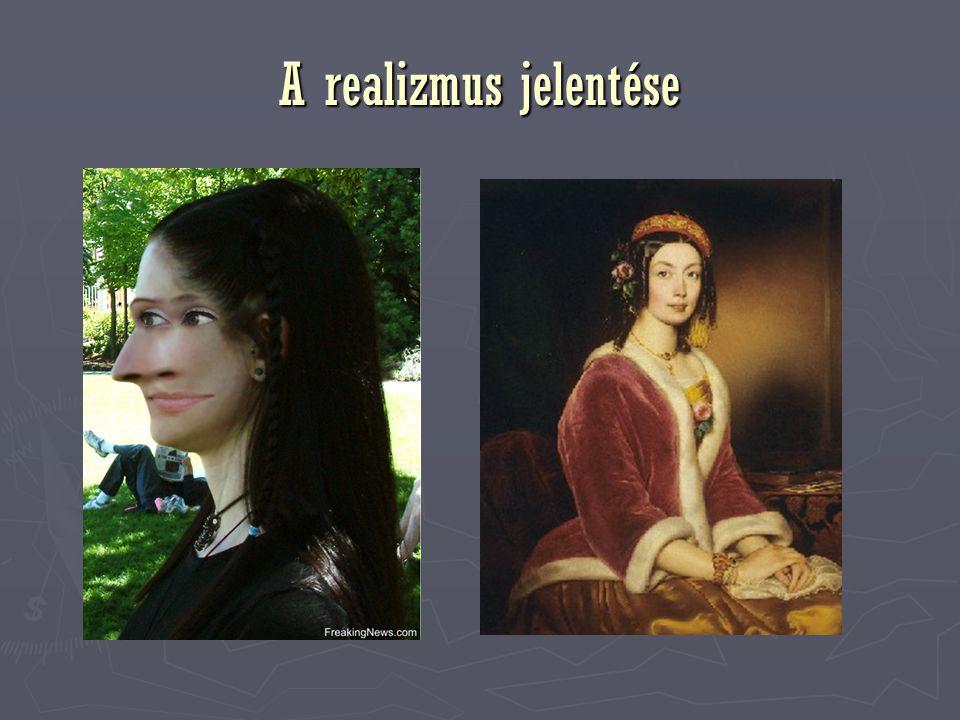 A realizmus jelentése