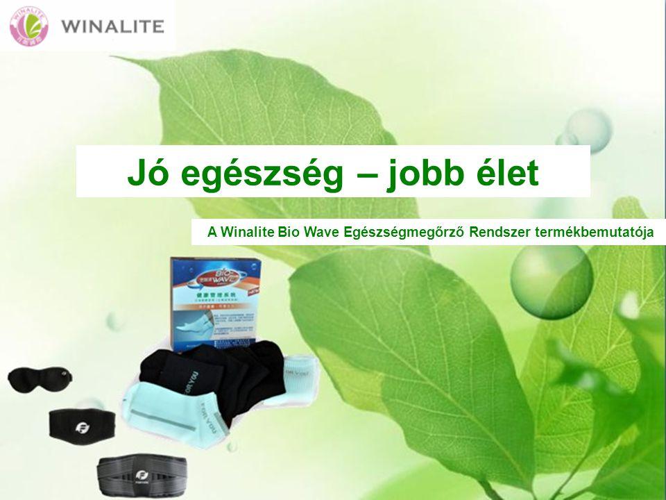 A Winalite Bio Wave Egészségmegőrző Rendszer termékbemutatója