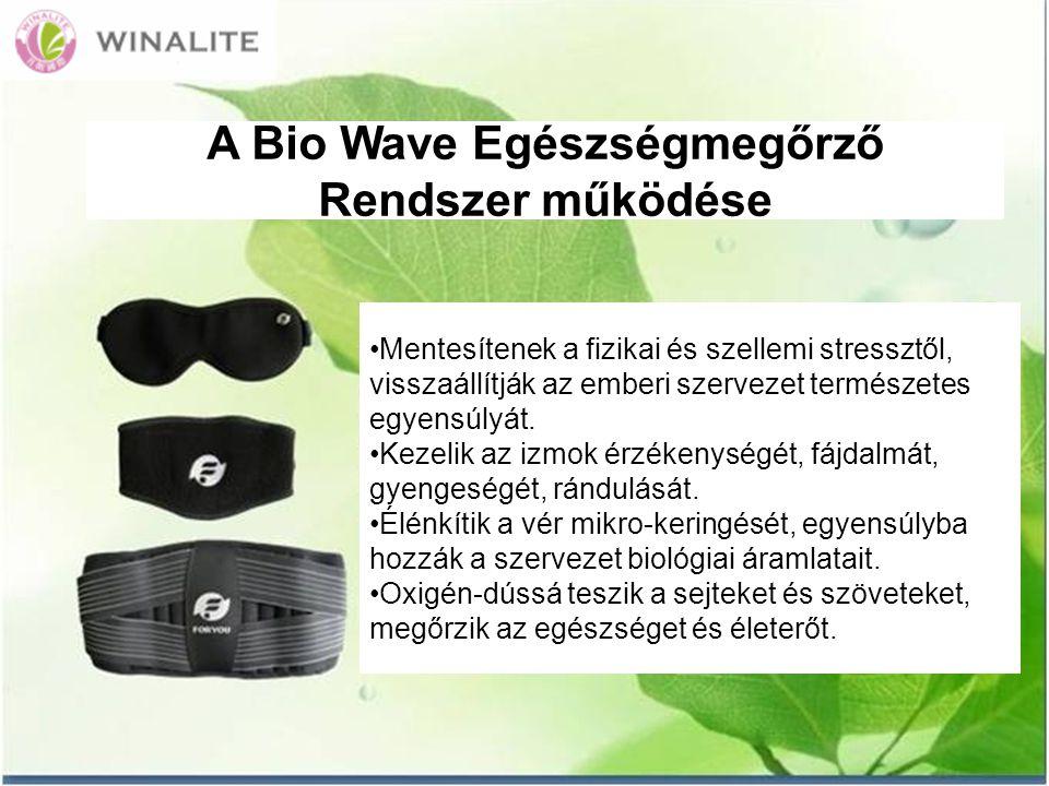 A Bio Wave Egészségmegőrző Rendszer működése