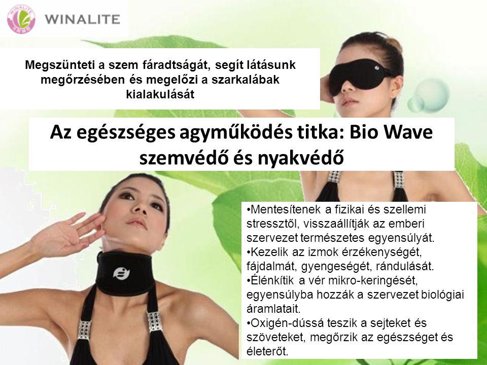 Az egészséges agyműködés titka: Bio Wave szemvédő és nyakvédő