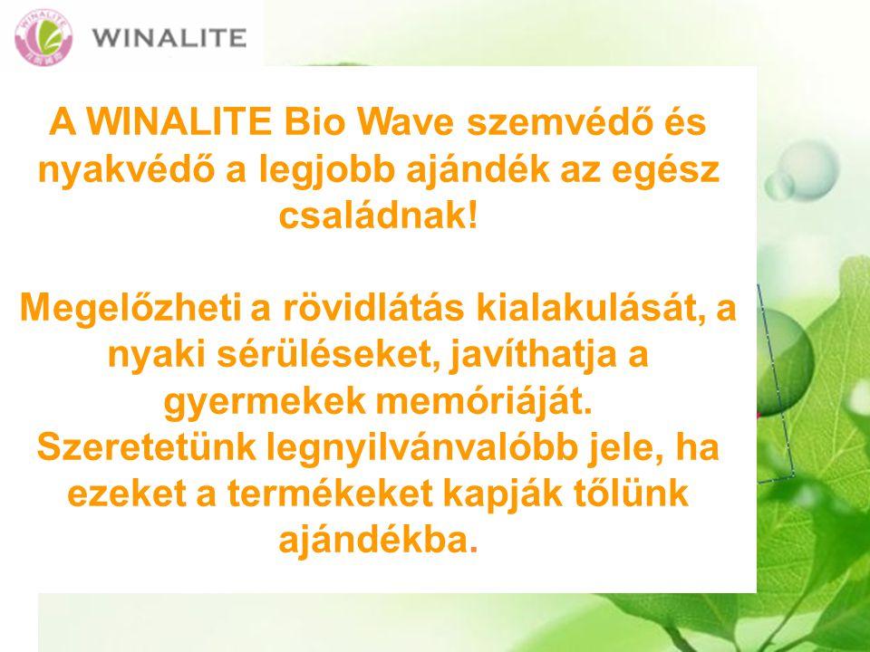 A WINALITE Bio Wave szemvédő és nyakvédő a legjobb ajándék az egész családnak!