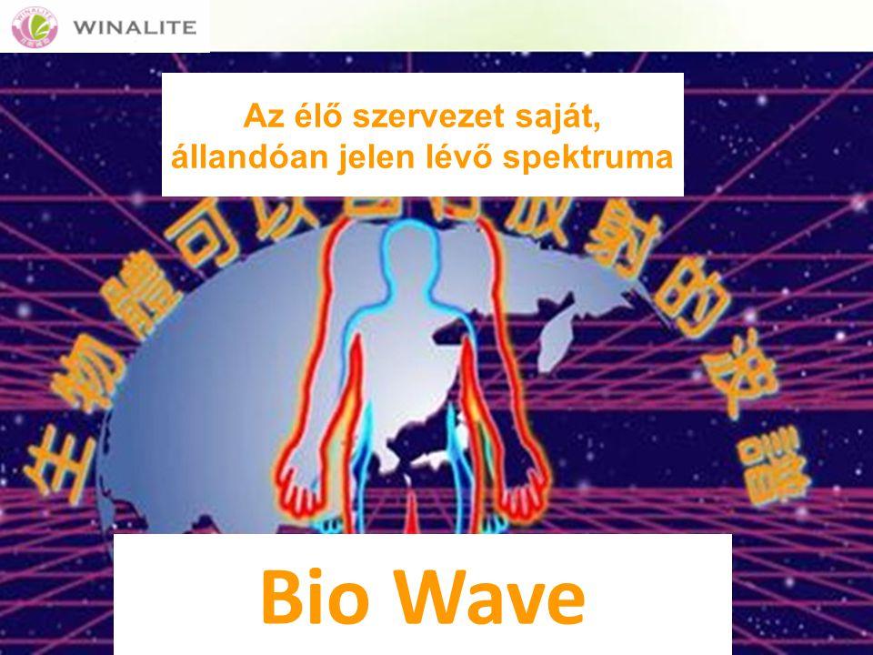 Az élő szervezet saját, állandóan jelen lévő spektruma