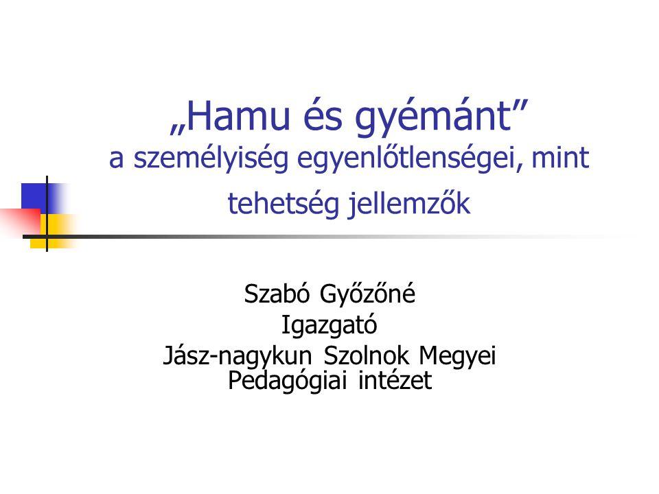 Szabó Győzőné Igazgató Jász-nagykun Szolnok Megyei Pedagógiai intézet