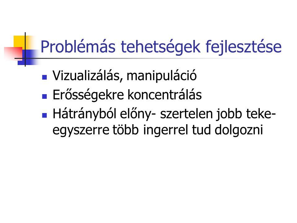 Problémás tehetségek fejlesztése
