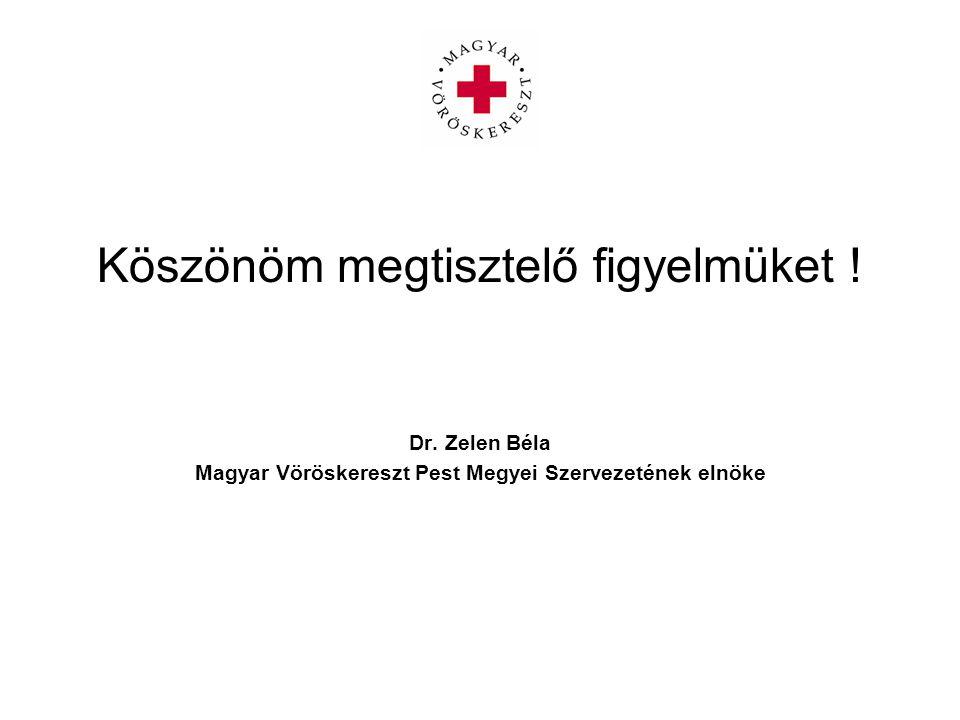 Magyar Vöröskereszt Pest Megyei Szervezetének elnöke