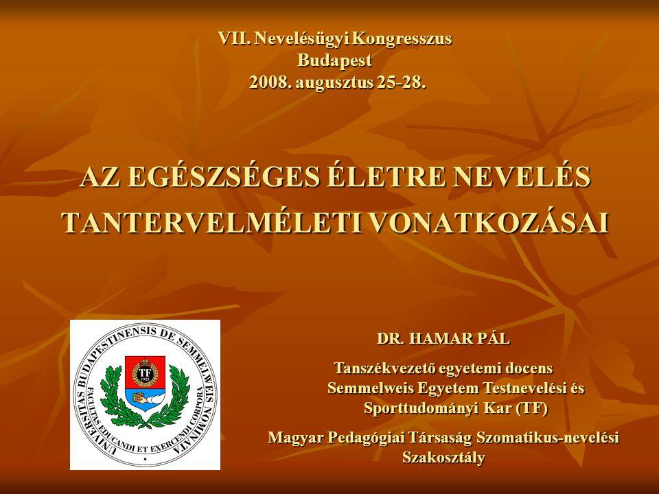 Magyar Pedagógiai Társaság Szomatikus-nevelési Szakosztály