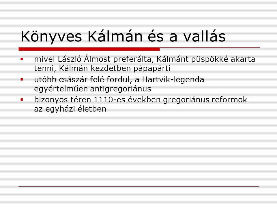 Könyves Kálmán és a vallás