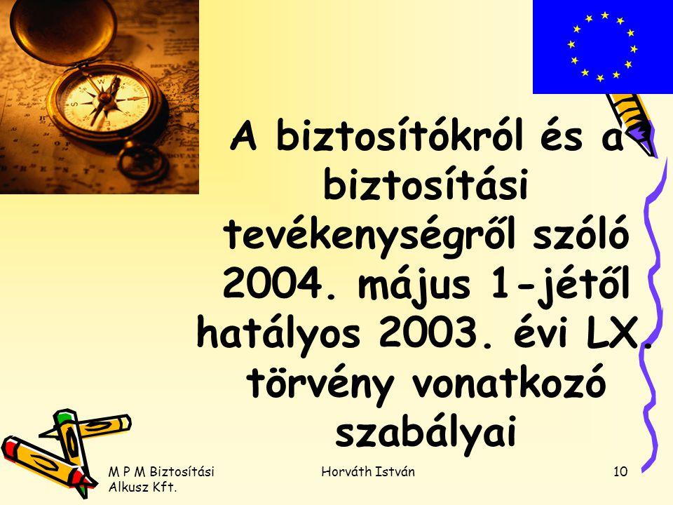 A biztosítókról és a biztosítási tevékenységről szóló 2004