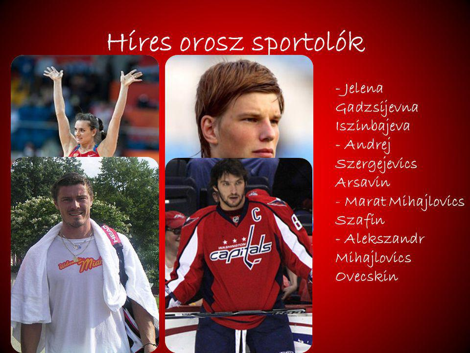 Híres orosz sportolók - Jelena Gadzsijevna Iszinbajeva