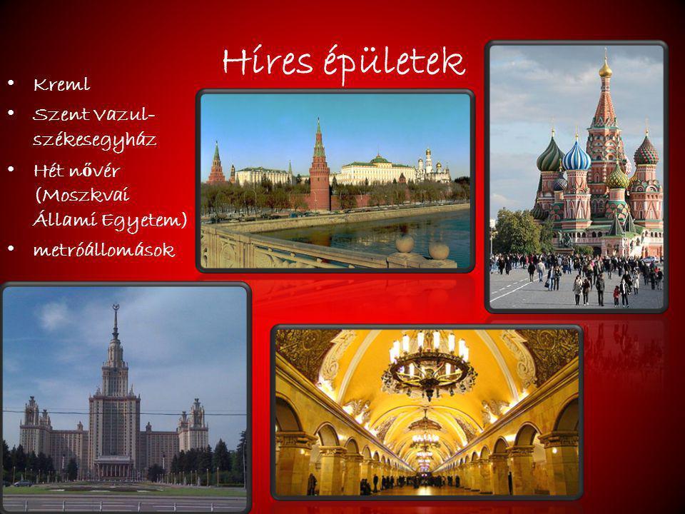 Híres épületek Kreml Szent Vazul-székesegyház