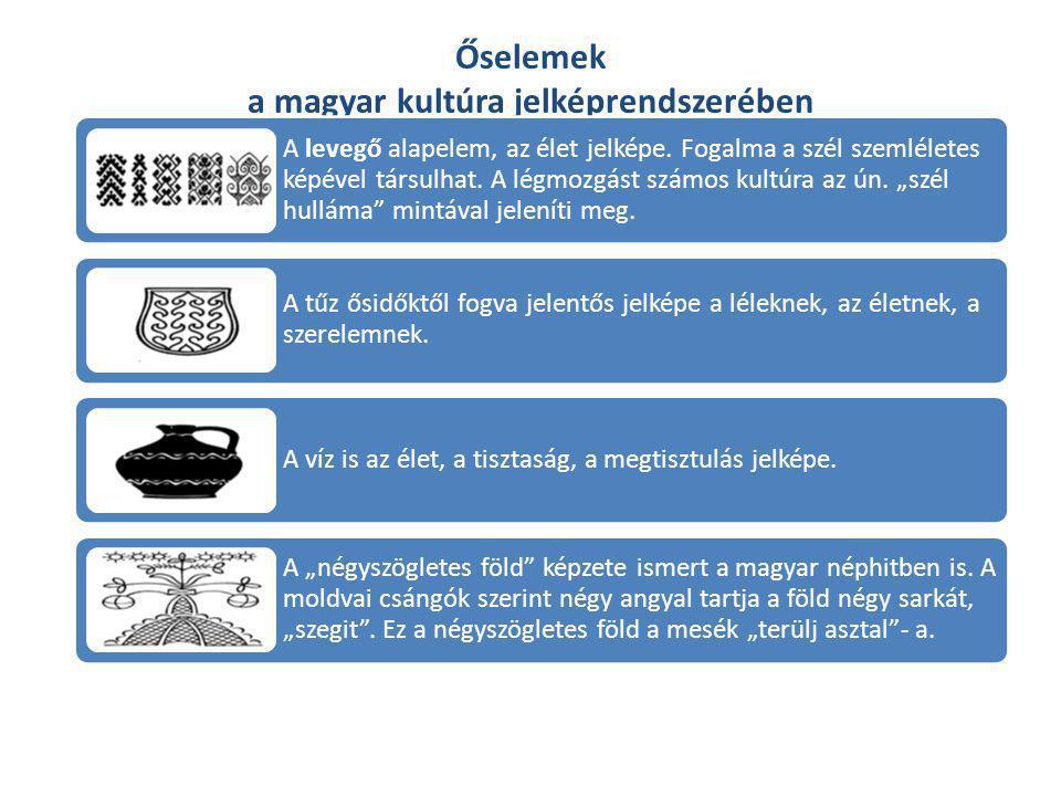 Őselemek a magyar kultúra jelképrendszerében