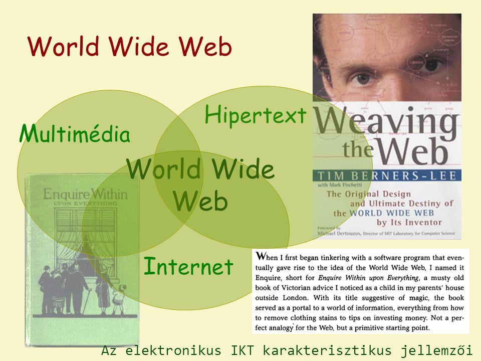 World Wide Web World Wide Web Hipertext Multimédia Internet