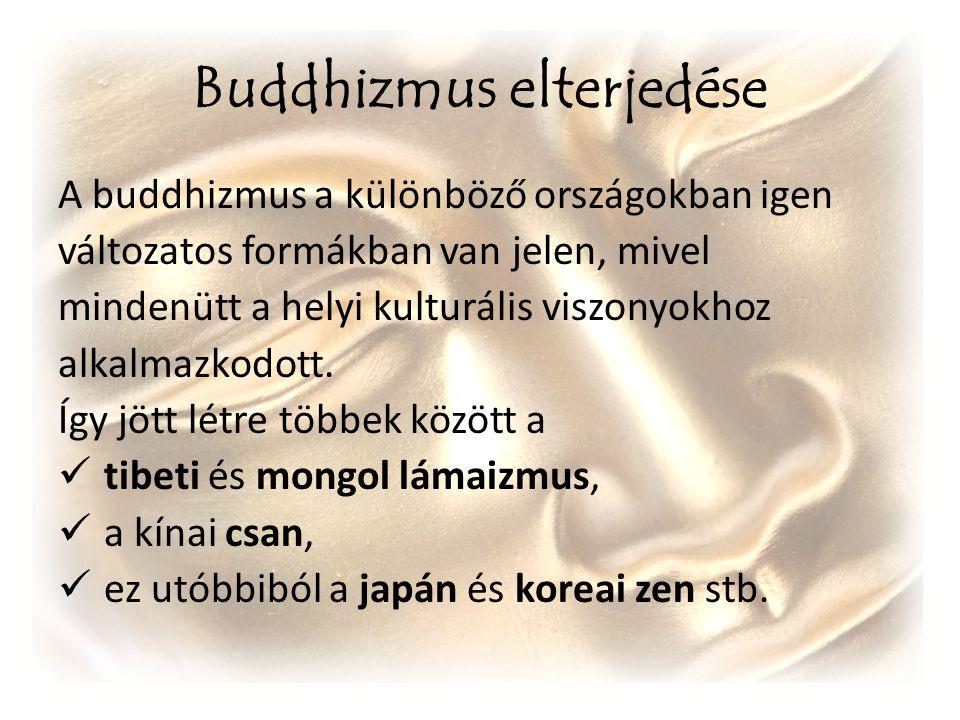 Buddhizmus elterjedése