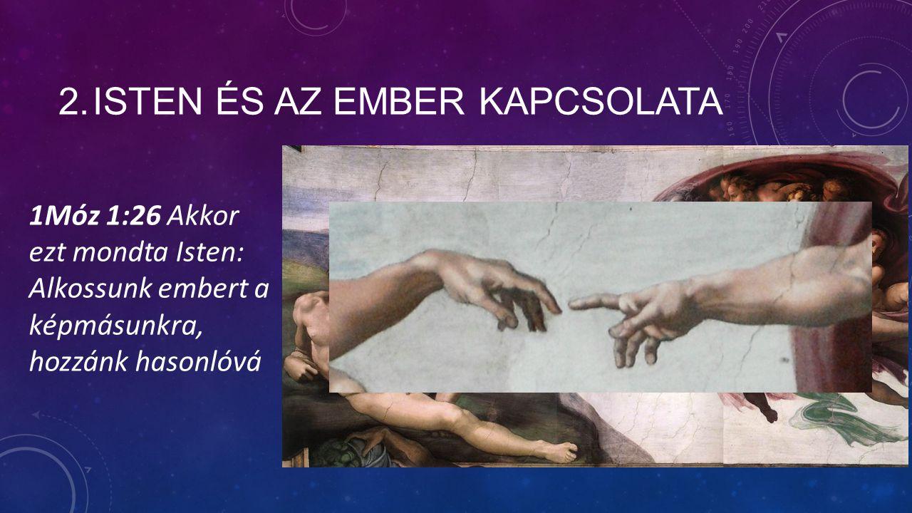 2. Isten és az ember kapcsolata