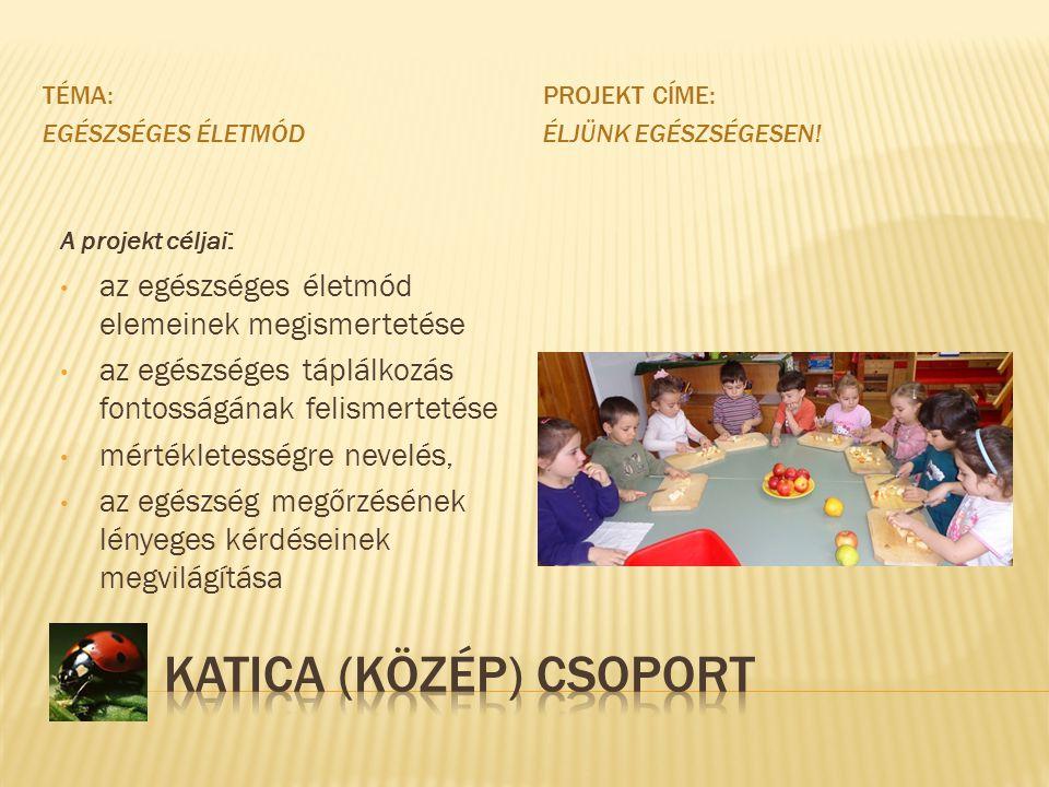 Katica (közép) Csoport