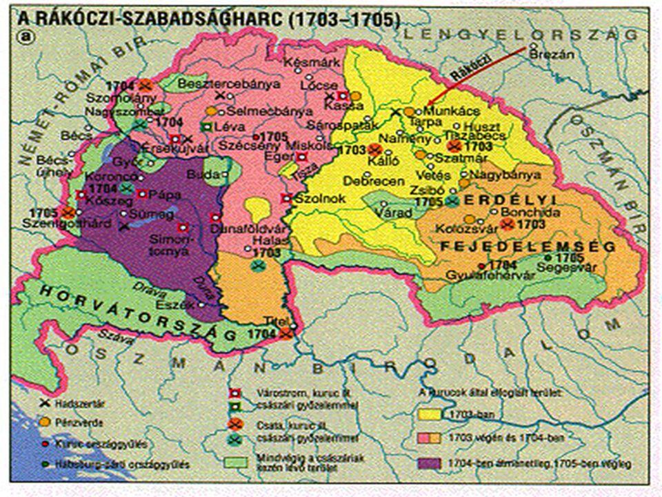 A Rákóczi-szabadságharc kronológiája:
