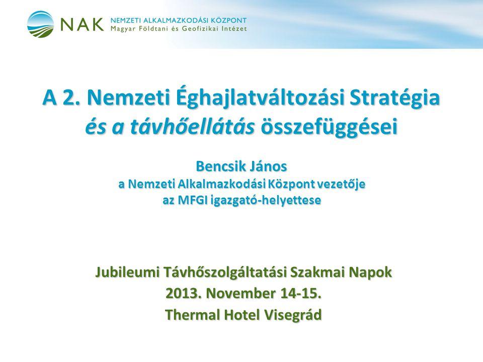 Jubileumi Távhőszolgáltatási Szakmai Napok Thermal Hotel Visegrád