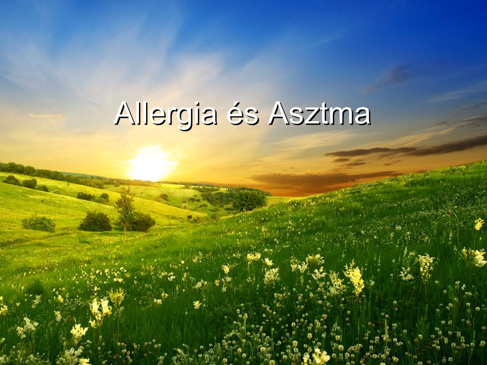 Allergia és Asztma