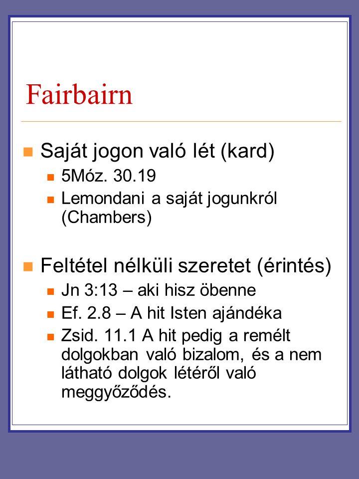 Fairbairn Saját jogon való lét (kard)
