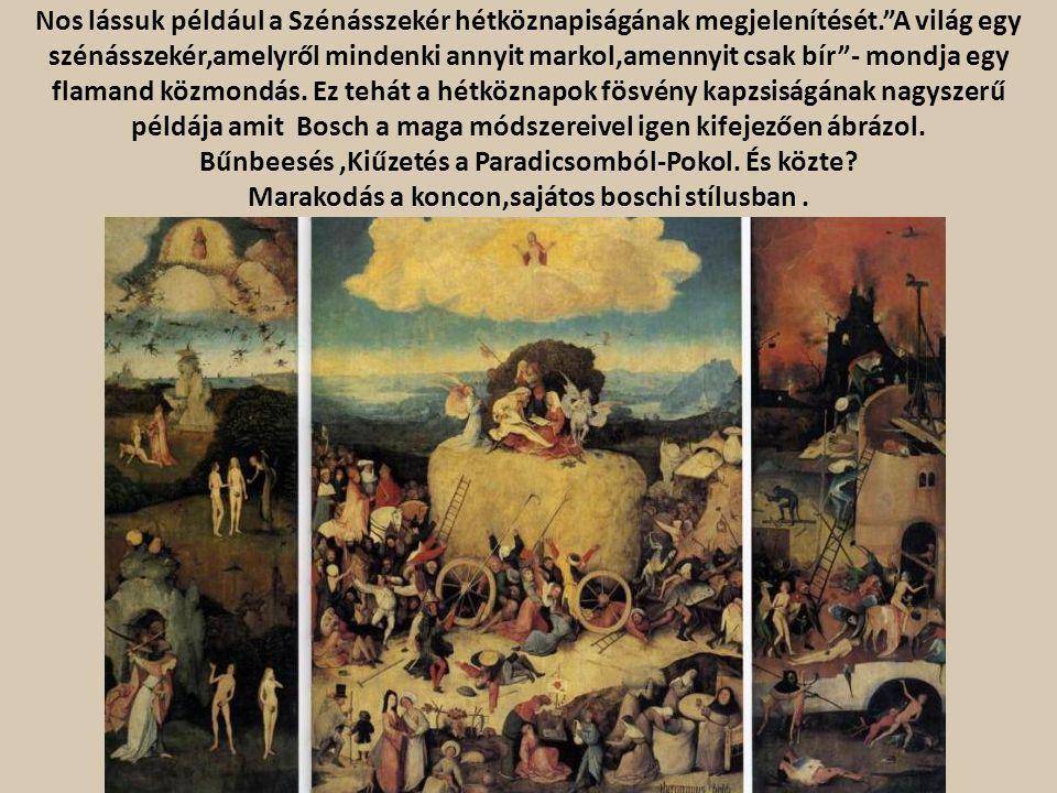 Bűnbeesés ,Kiűzetés a Paradicsomból-Pokol. És közte