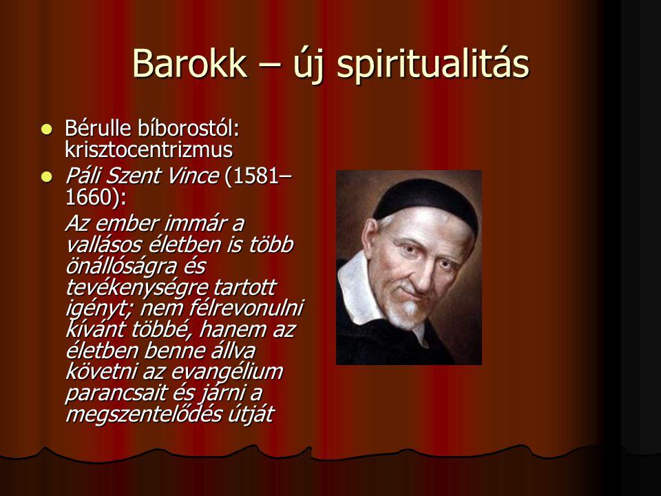 Barokk – új spiritualitás