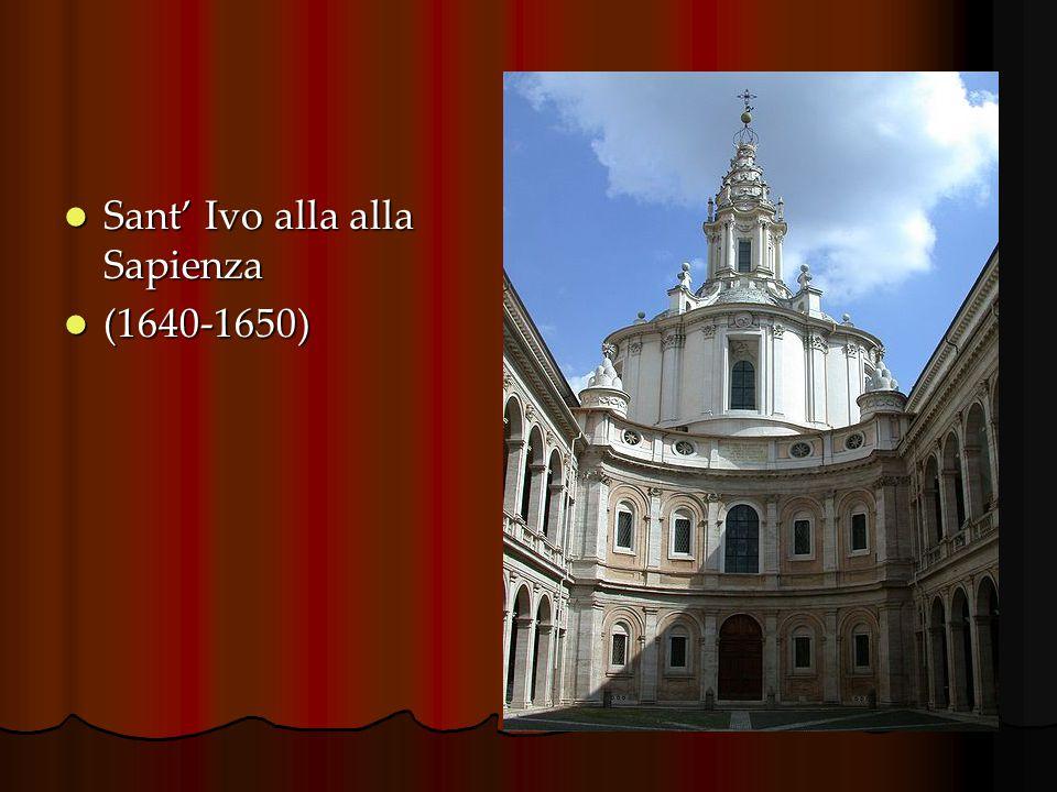 Sant' Ivo alla alla Sapienza