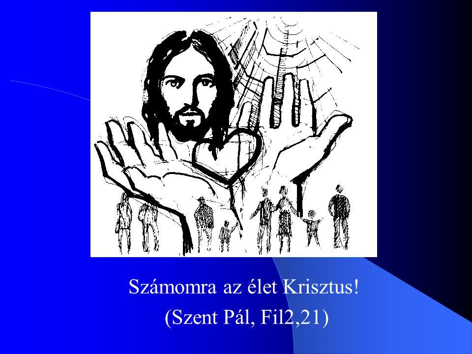 Számomra az élet Krisztus! (Szent Pál, Fil2,21)