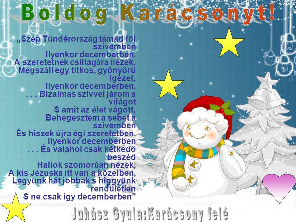 Juhász Gyula:Karácsony felé