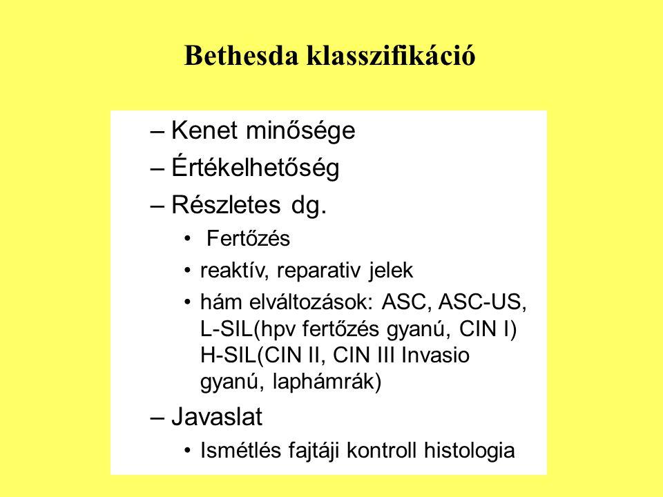 Bethesda klasszifikáció